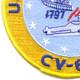 CV-64 USS Constellation Patch | Lower Left Quadrant