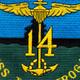 CV-14 USS Ticonderoga Patch | Center Detail