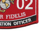Communication Officer 2502 MOS Patch | Lower Right Quadrant