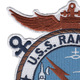 CVS-15 USS Randolph Patch | Upper Left Quadrant
