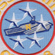 CVN-68 USS Nimitz Patch - Version N   Center Detail