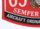 6531 Aircraft Ordnance Technician MOS Patch | Lower Left Quadrant