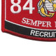 8411 Recruiter MOS Patch | Lower Left Quadrant