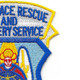 Aerospace Rescue and Recovery Service Patch   Upper Right Quadrant