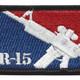 AR-15 Patch | Center Detail