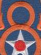 8th Air Force Shoulder Patch | Center Detail