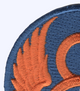 8th Air Force Shoulder Patch | Upper Left Quadrant