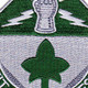 4th Infantry Division Special Troops Battalion Patch | Center Detail