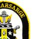 USS Kearsarge LHD-3 Amphibious Assault Ship Patch   Upper Right Quadrant