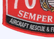 7051 Aircraft Rescue & Firefighter Specialist Patch | Lower Left Quadrant