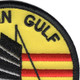 Tonkin Gulf Yacht Club Small 3 Inch Patch | Upper Right Quadrant