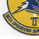 352nd Operations Support Squadron Patch | Lower Left Quadrant