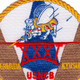 31st Naval Construction Battalion WWII Patch | Center Detail