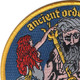 Shellback-Ancient Order Patch | Upper Left Quadrant