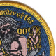 Shellback Ancient Order 3-Inch Patch | Upper Right Quadrant