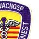 312 Medical Evacuation Hospital Patch | Upper Right Quadrant