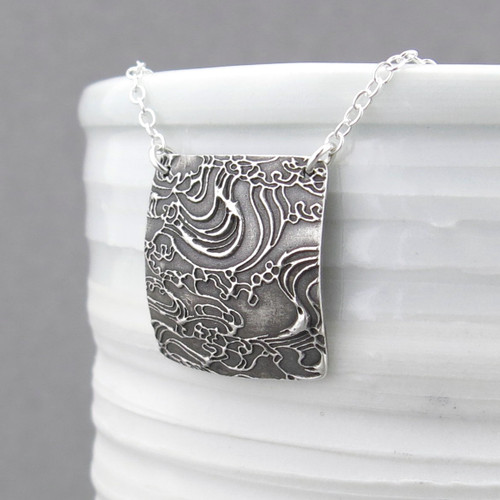 Adalia Necklace - Turbulent Waters
