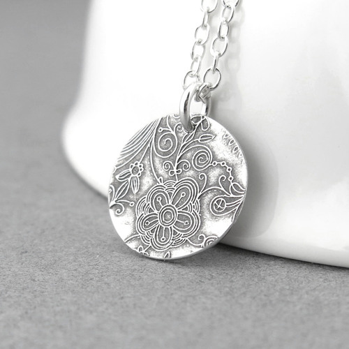 Enchanted Garden Necklace - Unique Petite