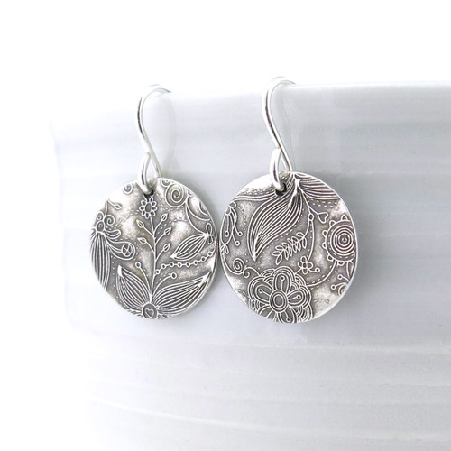 Enchanted Garden Earrings - Unique Petite