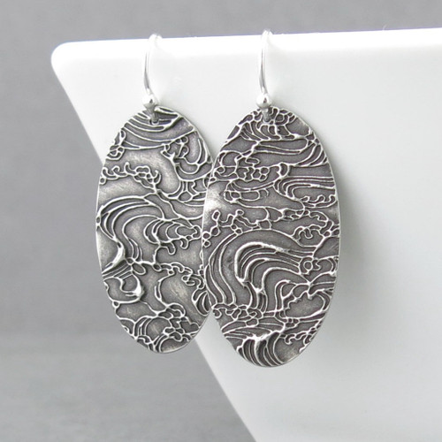 Hope Earrings - Turbulent Waters