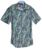 100% Cotton Men's Casual Short Sleeves Shirt Liberty of London Print