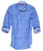 Confetti blue print 100 Cotton