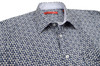 """Big and Tall Collection """"A man for all seasons"""" and a """"shirt for all reasons""""! Wherever...whenever, morning, noon or night this will be one of your most favorite.  That casual business meeting or an evening out dining, it will take you anywhere.  This outstanding imported European 100% cotton fabric will fill an fit like a dream.  Blue, gray and white and embellished with a solid white in he collar stand and on the cuffs when rolled add that special touch.  The double zig-zag stitching on the hem line make this the finished look of perfection 100% Cotton"""
