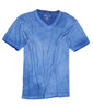 Men's Short Sleeves T-Shirt Color Royal / Garment Dyed Sizes S - XXL 60% Cotton / 40% Polyester