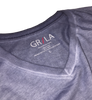 Men's Short Sleeves T-Shirt Color Capri Blue / Garment Dyed 60% Cotton / 40% Polyester
