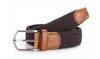 Espresso stretch Belt for Jeans or sporty. (Golf)   What size belt should I get? If you pant is size 32 you should get belt size 34 If you pant is size 34 you should get belt size 36 and so on...