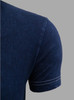 Luxury Crew-Neck Blue Indigo Dyed Pima Cotton Mens Tshirt TCSS-5102