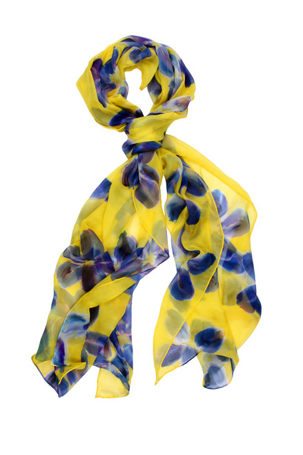 100% Silk Scarf Made in Italy