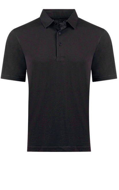 The World's Greatest Polo-Shirt classic black Made of natural materials Our guarantee: 100% Supercombined Pima Cotton / Organic Wash UP TO 60 DEGREES Celcius  Zero percent shrinkage, dryer proof Maximum maturity of elasticity & shape Ecological dyes of supreme quality & free of chemicals