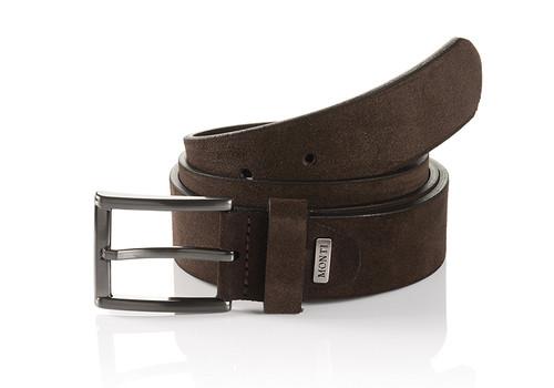 Gun metal buckle Width 35 mm  Sizes 32-34 Belt Bag & Box included