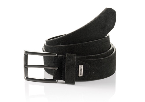 Gun metal buckle Width 35 mm   Sizes 32-34  Belt Bag & Box included