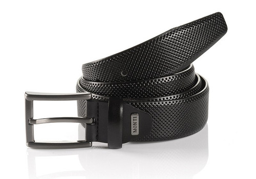 Embossed hand finished Gun Metal buckle Width 35 mm Belt bag & Gift Box included