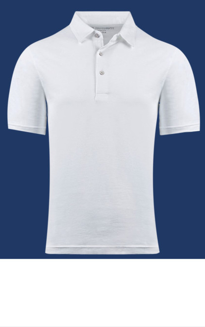 The World's Greatest Polo-Shirt classic white Made of natural materials Our guarantee: 100% Supercombined Pima Cotton / Organic Wash UP TO 60 DEGREES Celcius  Zero percent shrinkage, dryer proof Maximum maturity of elasticity & shape Ecological dyes of supreme quality & free of chemicals