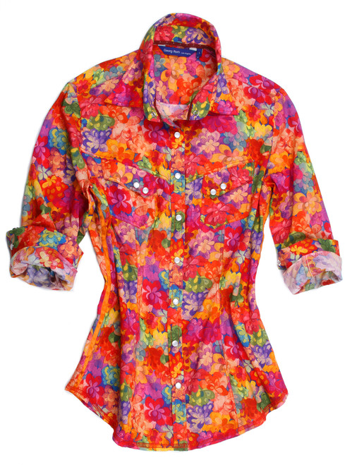 100% Cotton Long-Sleeves Liberty of London print Limited Edition Blouse