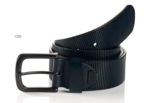 Sportswear Style Navy Full grain leather embossed Width 40mm Sizes 32-44 Belt bag included