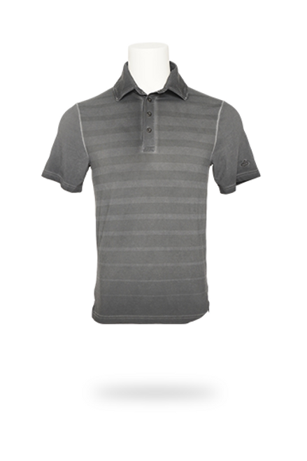 100+SPF short sleeve men's polo shirt with patented coLLo coLLar to protect you from the sun. Featuring UV sun protection that is woven in and not chemically treated so it doesn't wash out. Moisture wicking to keep you cool and dry, 4-way stretch for excellent range of motion. Can be worn for sports or casual wear. Eco-friendly made from recycled water bottles. Every coLLo golf shirt protects you with our uniquely shaped, extra high collar and UPF 50+ fabric. The collar's structured shape and removable stays help protect your neck all day long. And you'll look sharp too. Add in four-way stretch properties, cool, dry wicking, breathable, extra soft poly blend eco-friendly fabric, and you have a collar that protects without binding, chafing, or getting in the way.