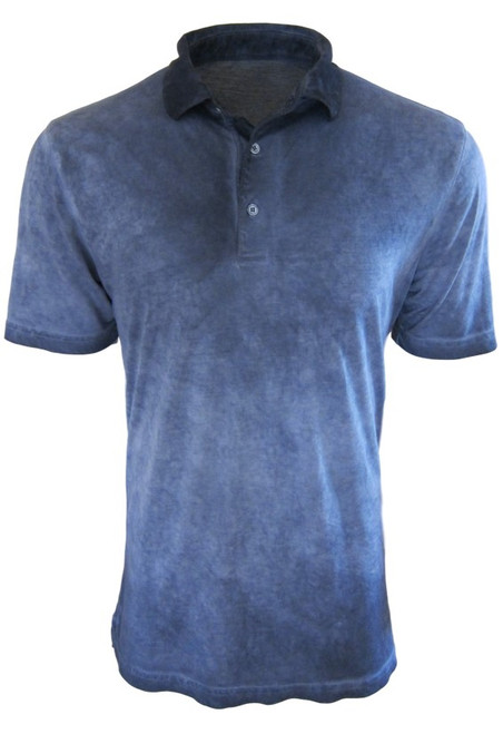 So super soft and feel good is our Limited Edition Garment Dyed Polo. Rich in color, Capri Blue  looks awesome with denim, khakis or whites. Special treatment and chemical free. Hand or machine was cold, lay flat to dry and go! Slightly tapered. For a comfort fit we recommend sizing up. 100% PIMA COTTON