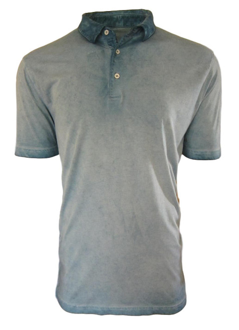 So super soft and feel good is our Limited Edition Garment Dyed Polo. Rich in color, Sea foam Mint  looks awesome with denim, khakis or whites. Special treatment and chemical free. Hand or machine was cold, lay flat to dry and go! Slightly tapered. For a comfort fit we recommend sizing up. 100% PIMA COTTON