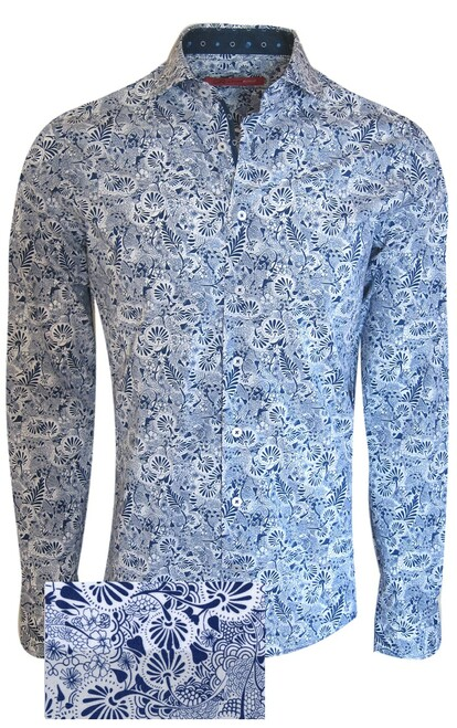 Long Sleeve   100% Luxe Pima Cotton  Soft collar  Machine or hand wash cold, no bleach  Hang or lay flat to dry