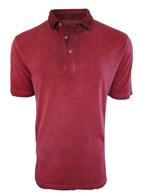 So super soft and feel good is our Limited Edition Garment Dyed Polo. A warm shade of brick red is vivid and rich, looks fabulous with denim, khakis or whites. Special treatment and chemical free. Hand or machine was cold, lay flat to dry and go! Slightly tapered. For a comfort fit we recommend sizing up. 100% PIMA COTTON