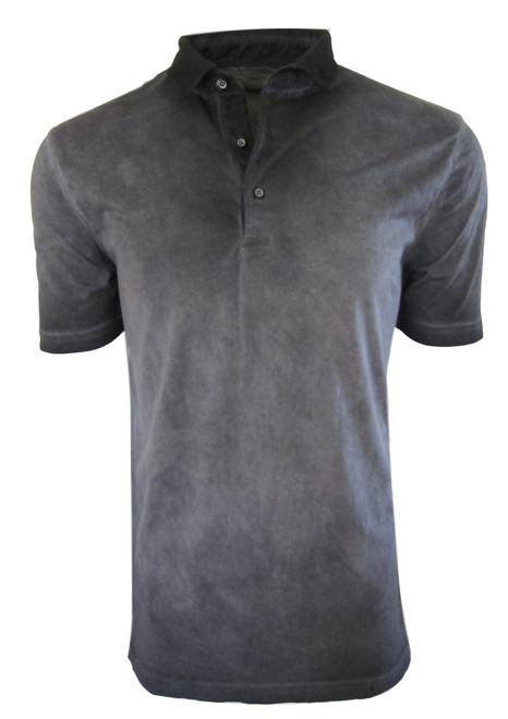 So super soft and feel good is our Limited Edition Garment Dyed Polo. Our garment dyed shades of greys are vivid and rich, looks fabulous with denim, khakis or whites. Special treatment and chemical free. Hand or machine was cold, lay flat to dry and go! Slightly tapered. For a comfort fit we recommend sizing up. 100% PIMA COTTON