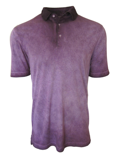 So super soft and feel good is our Limited Edition Garment Dyed Polo. Our garment dyed shades of Plum & eggplant are vivid and rich, looks fabulous with denim, khakis or whites. Special treatment and chemical free. Hand or machine was cold, lay flat to dry and go! Slightly tapered. For a comfort fit we recommend sizing up. 100% PIMA COTTON