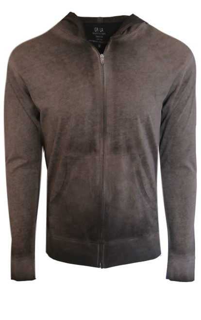 Your go to fashion full zip hoodie has arrived! A warm and rich shade of coffee brown garment dyed bringing different shades together.  Easy piece that you will just love the comfort and feel. Pair it with any of our tees and enjoy the layered look of casual comfort.  100% Organic cotton  Hand or Machine wash cold and lay flat to dry (No bleach please)