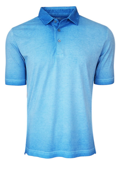 So super soft and feel good is our Limited Edition Garment Dyed Polo. Canary Blue Turquoise is vivid and rich, looks fabulous with denim, khakis or whites. Special treatment and chemical free. Hand or machine was cold, lay flat to dry and go! Slightly tapered. For a comfort fit we recommend sizing up. 100% PIMA COTTON