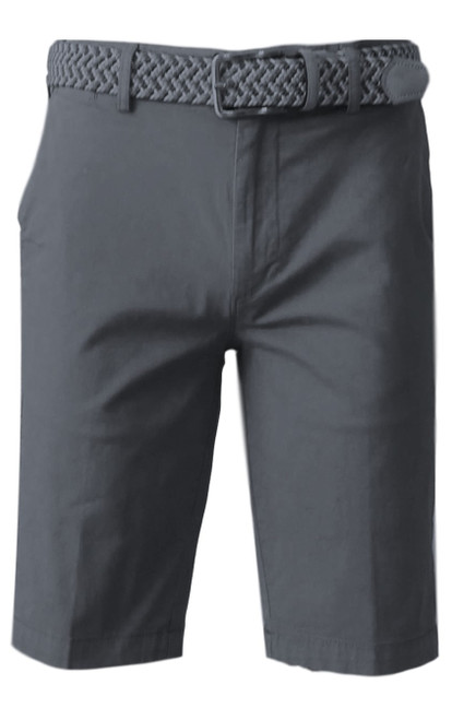 We call it the perfect timing .... Our Georg Roth Mens shorts have been developed and in the works for the last year. Getting it right is our first priority.   A Peruvian cotton with just enough stretch makes this super comfortable and stylish. Our chino flat front with 2 side pockets and a front coin pocket will take you to work or casual anytime, anywhere. (Belt sold separately https://georgrothlosangeles.com/mens-belts-1/)   Love the look with a Shirt open and a Tee (of course sleeves rolled) or a Polo or Tee. Pair it with our stretch braided belt and feel great all day into evening.  GRANITE GREY  Machine wash cold, light tumble dry or lay flat to dry  Sizing  - True to size   97% Cotton 3% Lycra