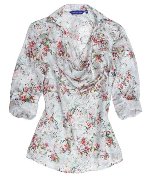 Long Sleeve Silk Tunic